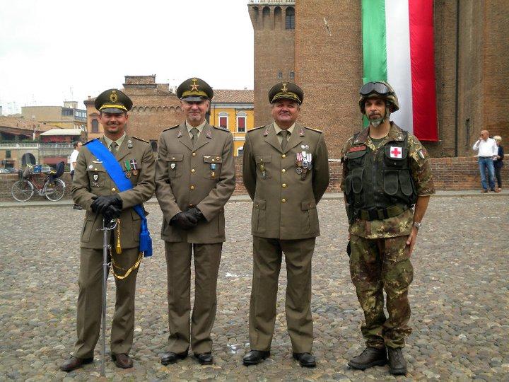 Corpo Militare CRI - Ferrara 02 Giugno 2011