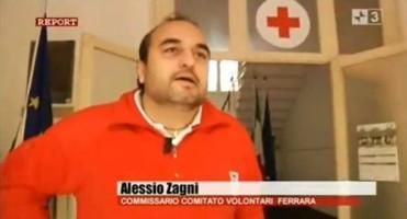 "La CRI di Ferrara a ""Report"""