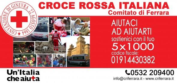 5x1000 alla Croce Rossa Italiana di Ferrara
