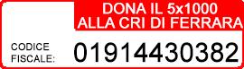 Dona il 5x1000 alla CRI di Ferrara