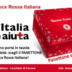 Panettone solidale 2016 Croce Rossa Italiana