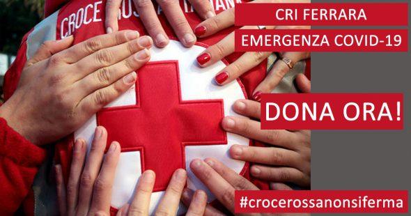 CRI Ferrara donazioni covid19 coronavirus